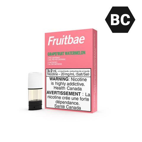 FRUITBAE STLTH PODS - GRAPEFRUIT WATERMELON