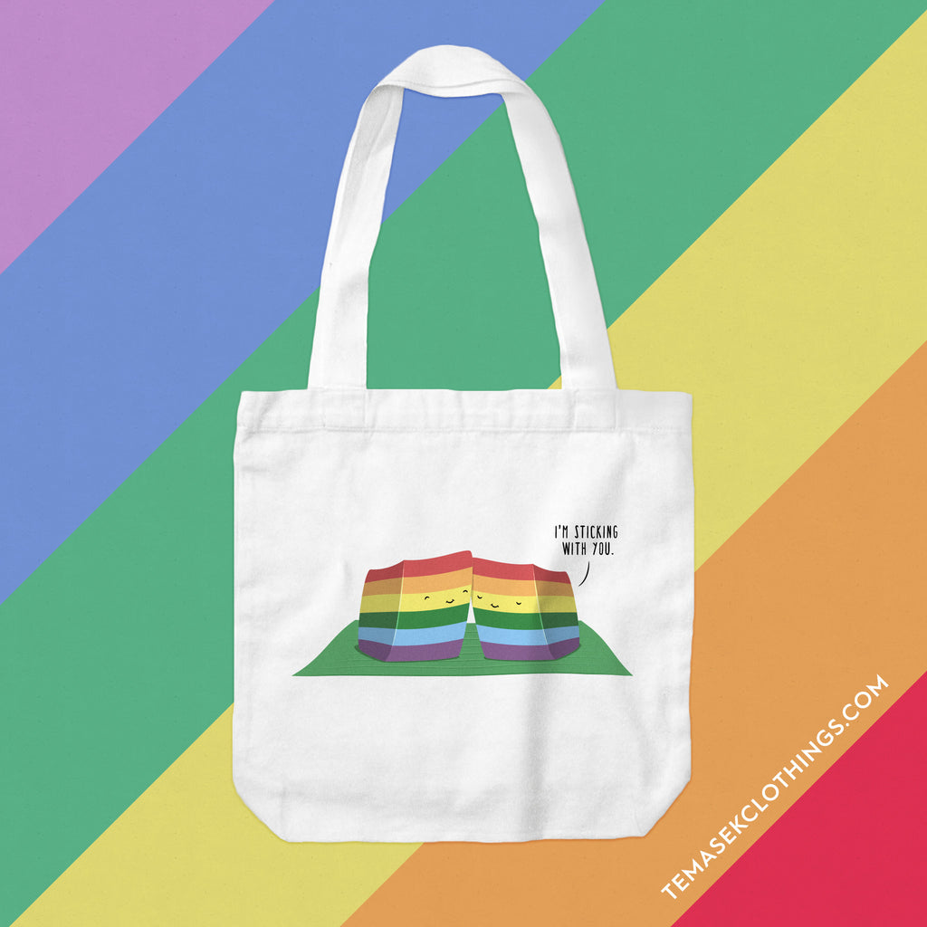 Temasek Clothings - Tote Bag - Gay Lapis Tote