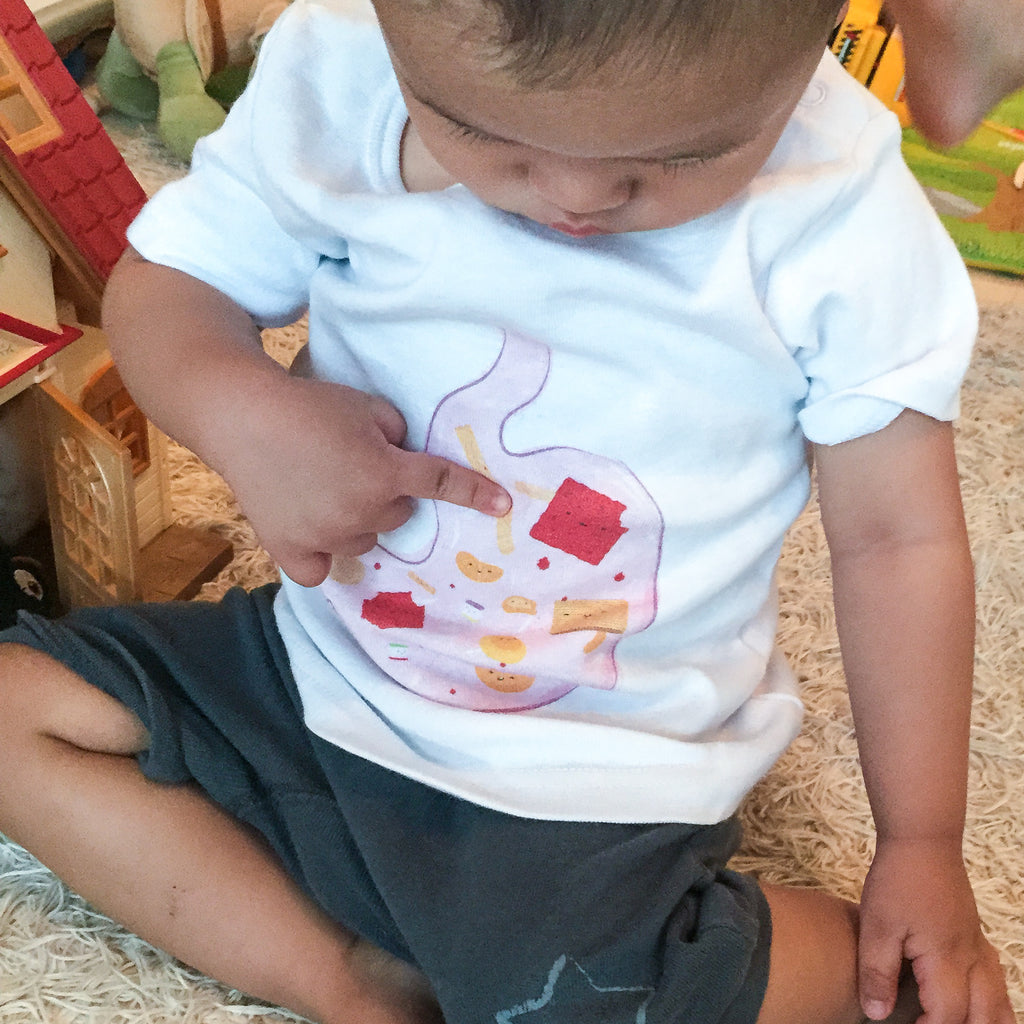 Temasek Clothings - Kids T-shirt - Belly Happy Kids