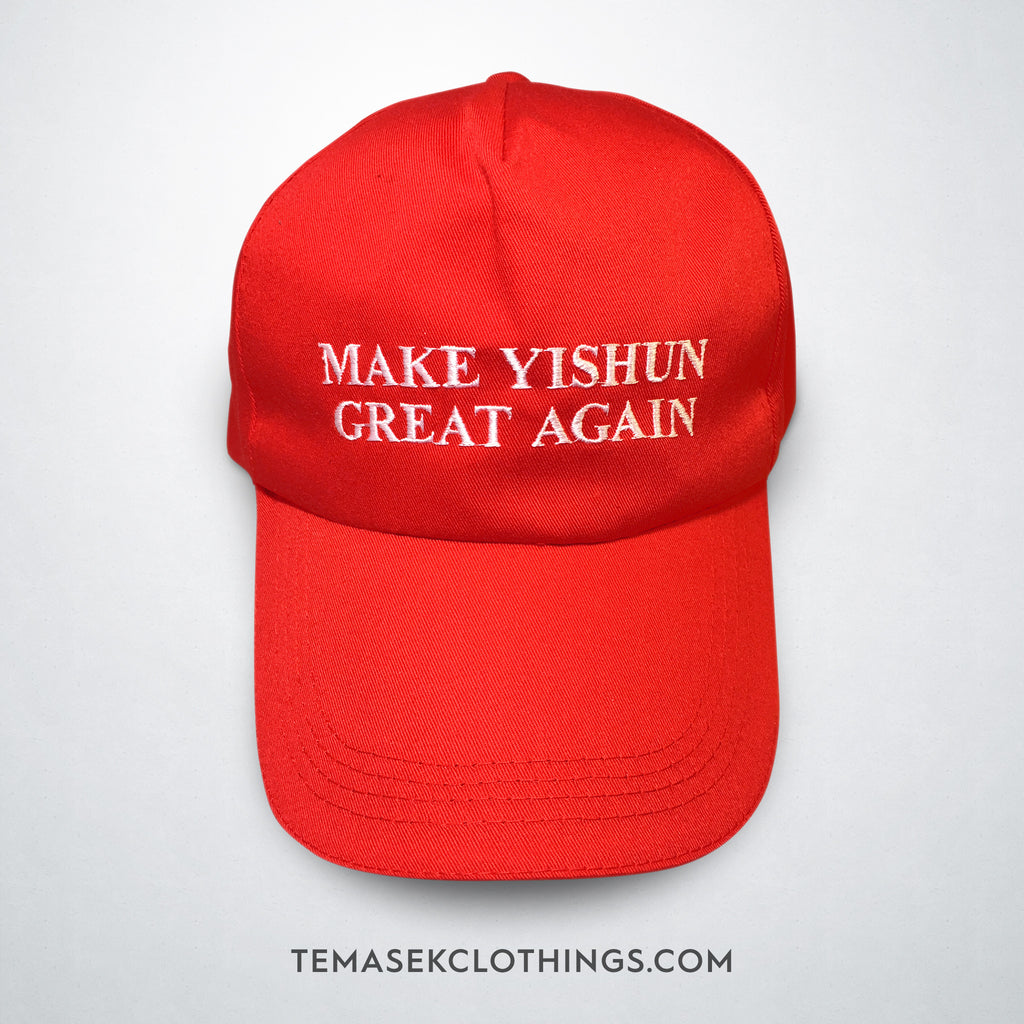 Official Make Yishun Great Again Cap - Temasek Clothings