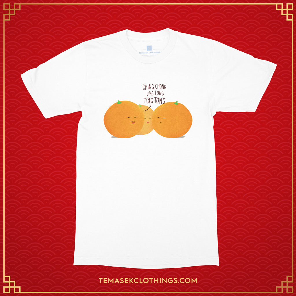 Temasek Clothings - Mandarin Oranges T-shirt - 1