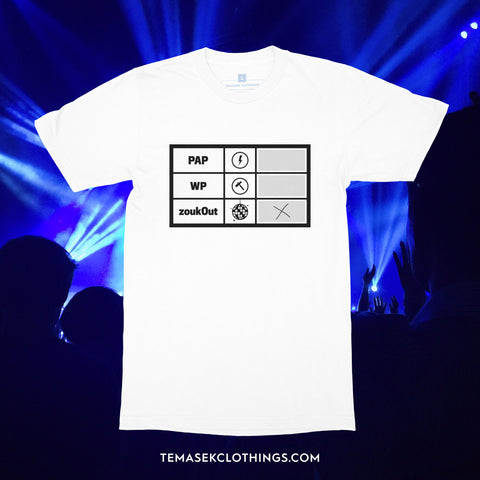 Temasek Clothings - Party Time T-shirt