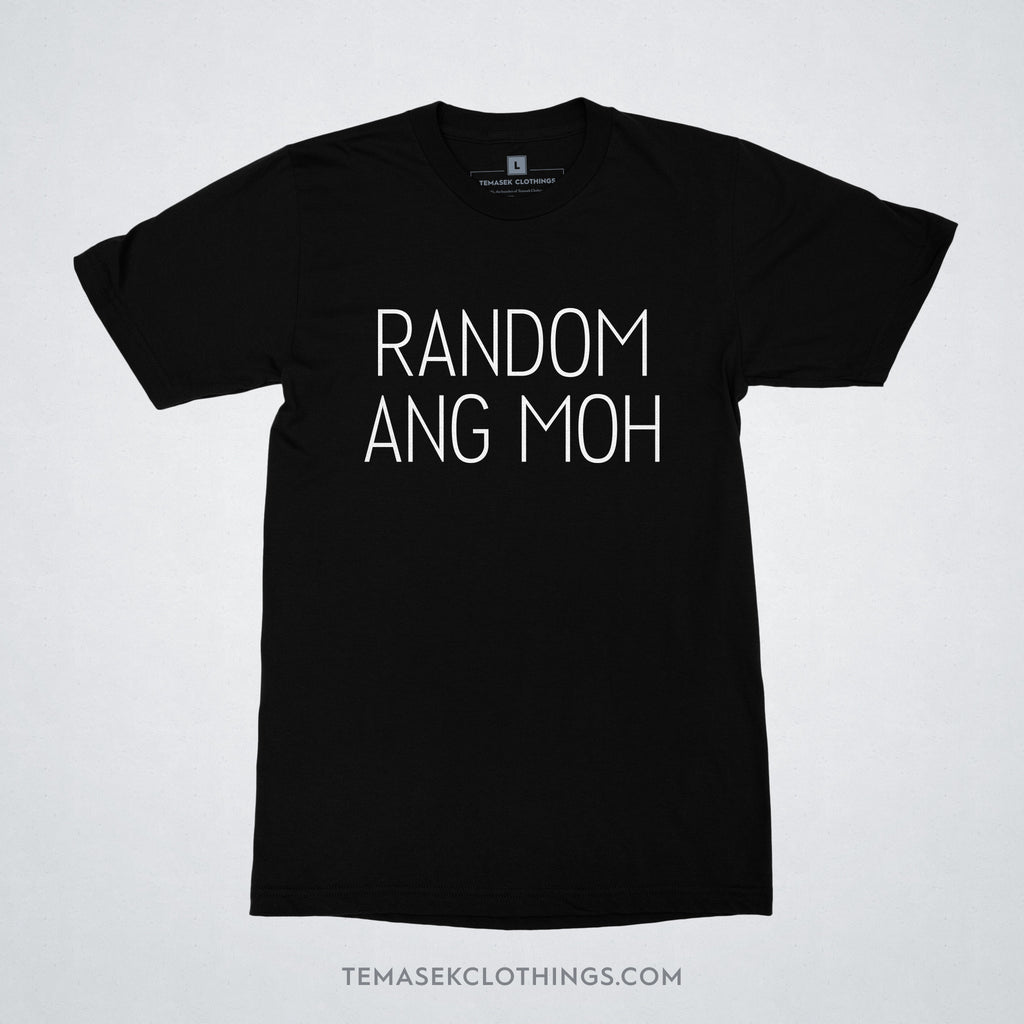 Temasek Clothings - T-shirt - Random Ang Moh