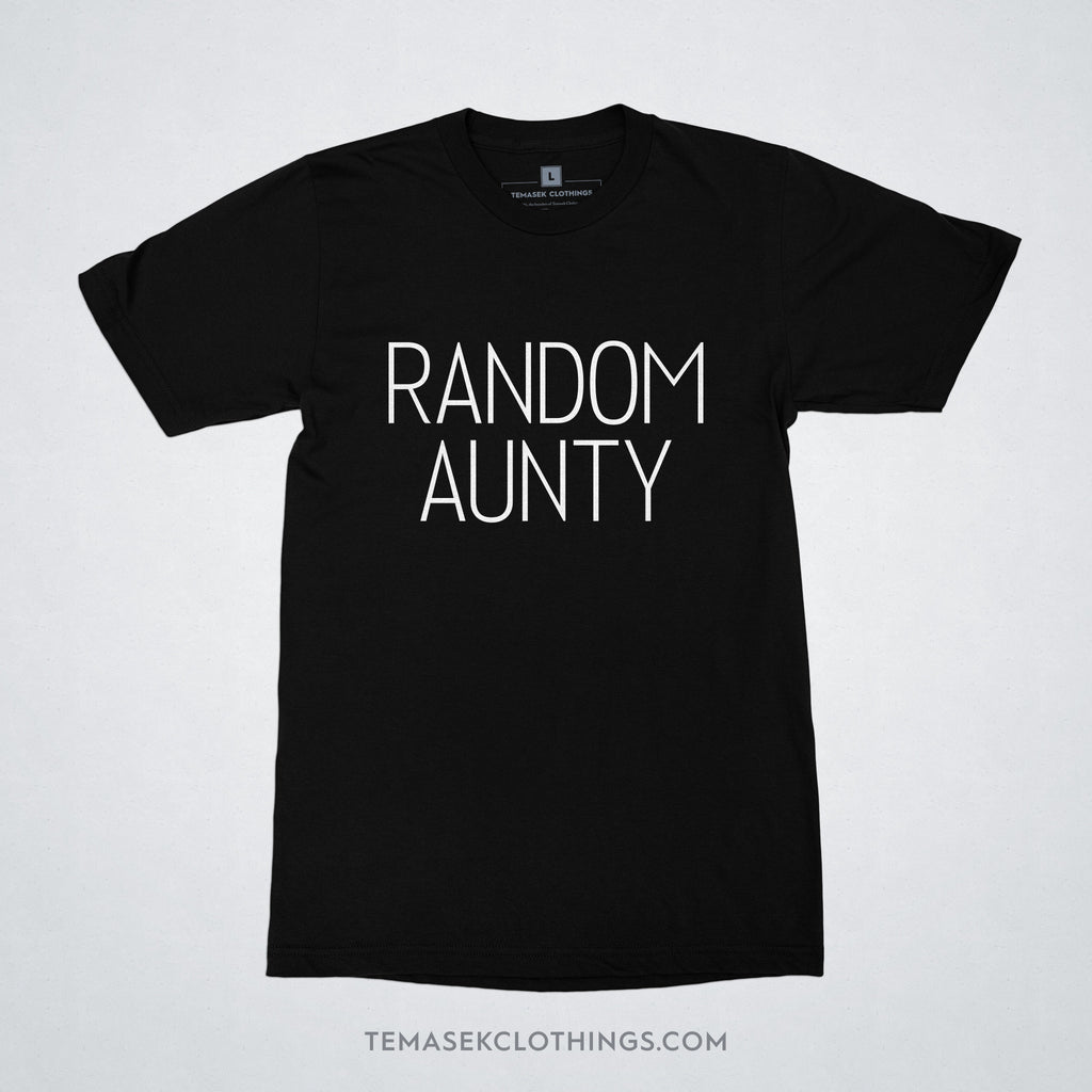 Temasek Clothings - T-shirt - Random Aunty