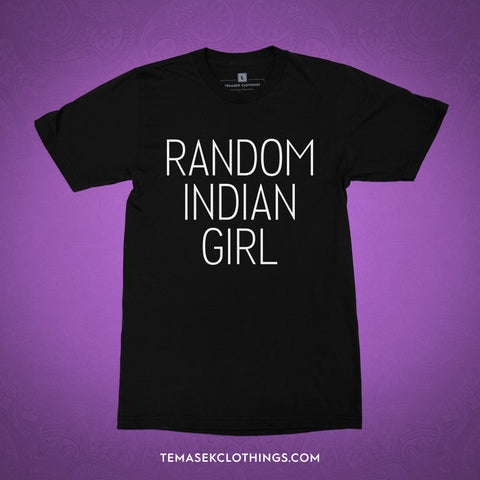 Temasek Clothings - Random Indian Girl T-shirt