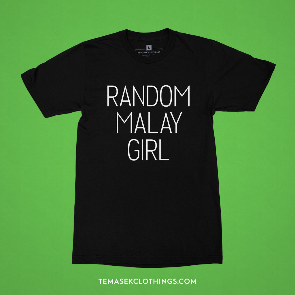 Temasek Clothings - Random Malay Girl T-shirt