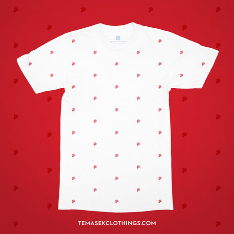 Temasek Clothings - CHUT PATTERN 01: RED LION T-shirt - 1