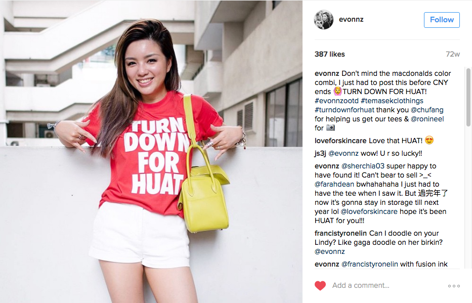 Temasek Clothings - T-shirt - Turn Down For Huat