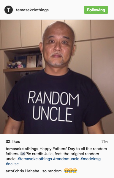 Temasek Clothings - T-shirt - Random Uncle