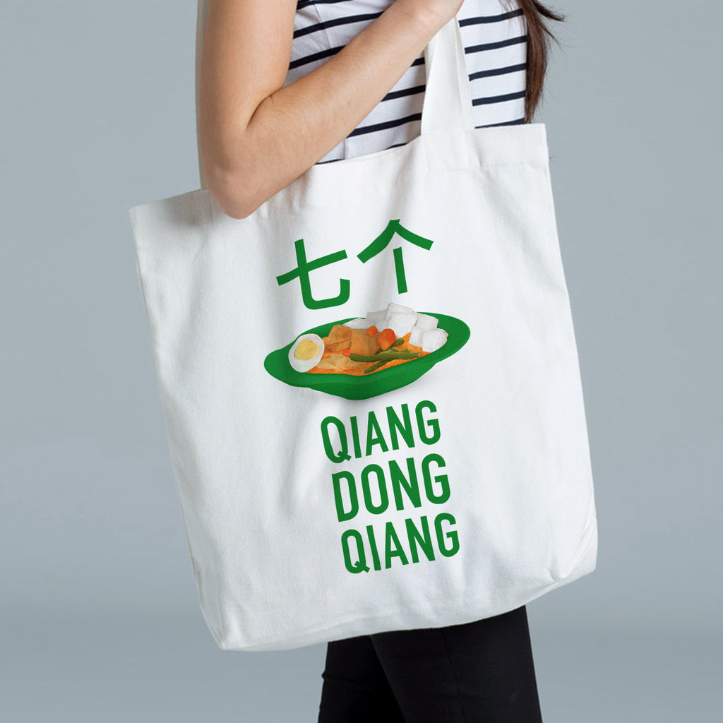Temasek Clothings - Tote Bag - Seven Lontongs Tote