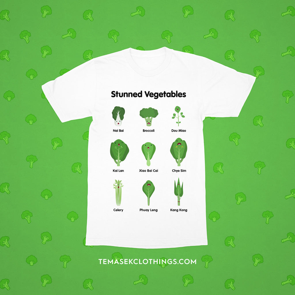 Temasek Clothings - Stunned Vegetables Kids T-Shirt Kids T-shirt