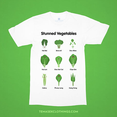 Temasek Clothings - Stunned Vegetables T-shirt - 1