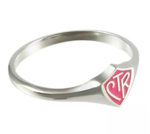 Pink Mini CTR Ring (Size 4)