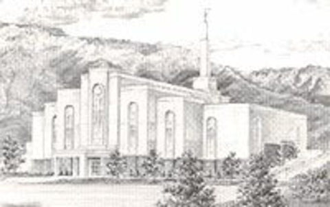 Albuquerque Temple Recommend Holder