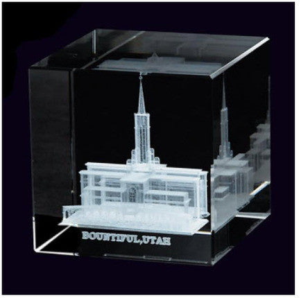 Bountiful Temple Crystal Cube (Statuette)