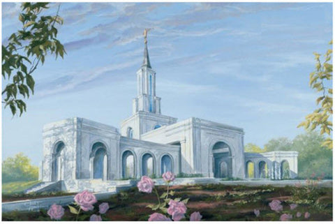 Sacramento Temple Recommend Holder