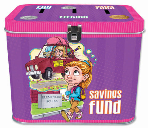 Tin Tithing Bank (Girl)