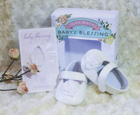 Baby's Blessing Soft Rose Gift Pack