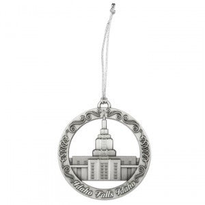 Idaho Fall Idaho Temple Ornament