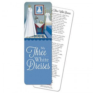 My Three White Dresses Bookmark