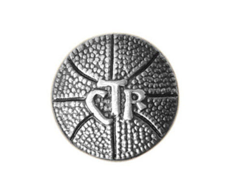 CTR Basketball Tie Tac