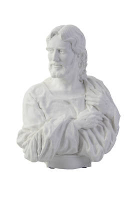 "Christ Bust ""I AM"" Statue S42"