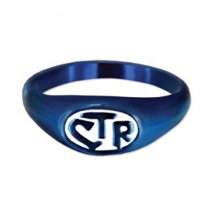 Blue & White Allegro CTR Ring