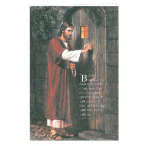 Christ Knocking at the Door Program Cover