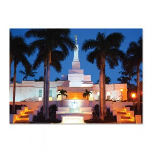 Kona Hawaii Temple Night Print- 3—4?