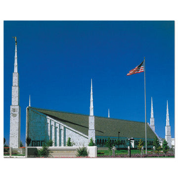 Boise Idaho Temple Day 3—4 Print