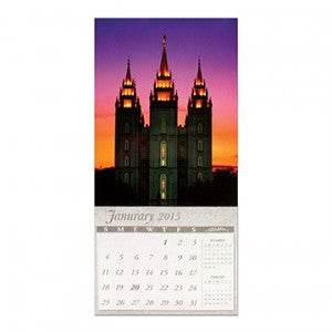 Salt Lake Temple 2015 Magnetic Calendar