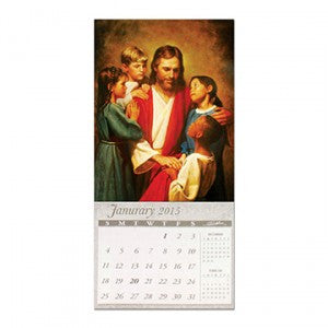 Christ with Children 2015 Magentic Calendar