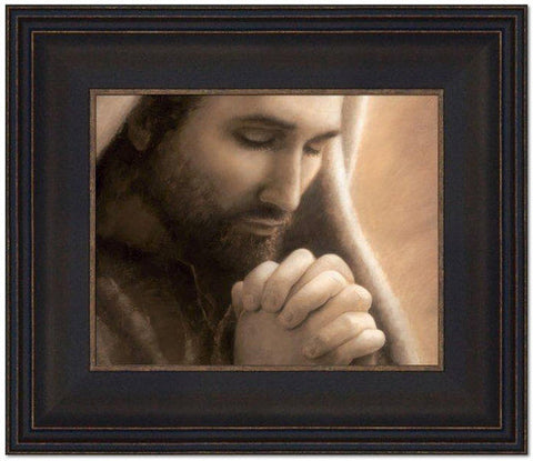 In Humility (14x12 Framed Art) (Framed Art)