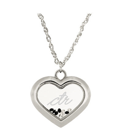In My Heart Necklace (Silver)