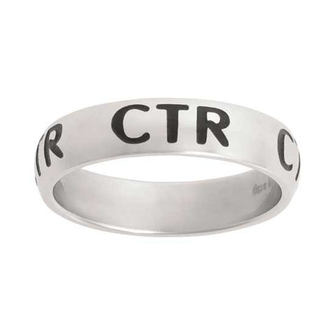 "CTR RING Stainless Steel ""Repeat"" J67"
