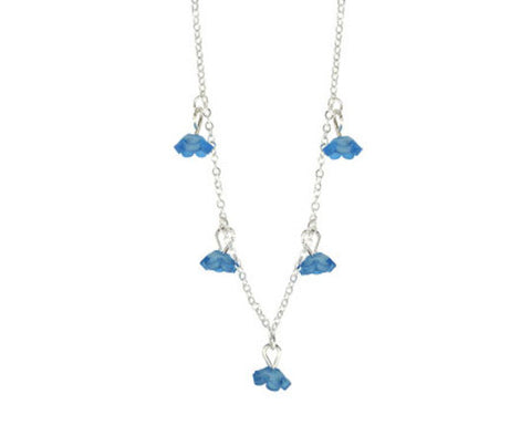 Forget-Me-Not Flower Necklace (Accessory)