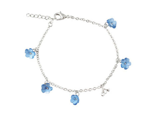 Forget-Me-Not Flowers CTR Bracelet (Accessory)