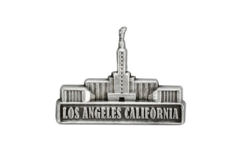 Los Angeles Temple Pin (Silver)