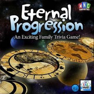 MISSIONARY NOVELTY C ETERNAL PROGRESSION LDS TRIVIA GAME