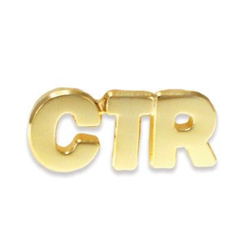 CTR Gold Plated Pin