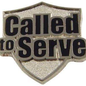 Called to Serve Pin