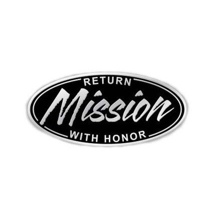 Return with Honor Missionary Tie Pin