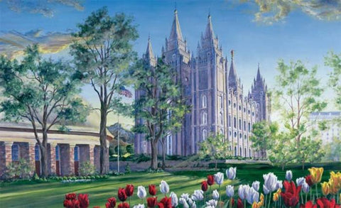 Salt Lake Temple No-Flip Recommend Holder
