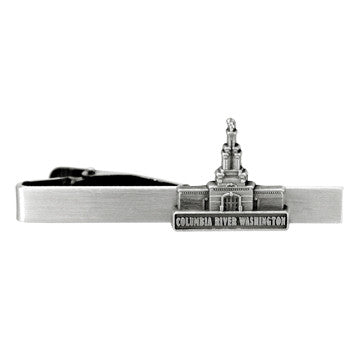 Columbia River Washington Temple Tie Bar