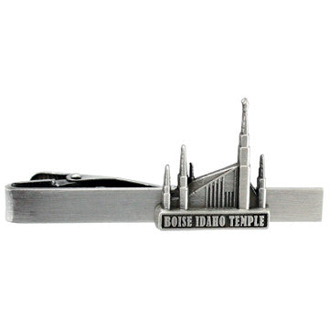 Boise Idaho Temple Tie Bar