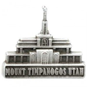 Mount Timpanogos Utah Temple Pin