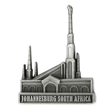 Johannesburg South Africa Temple Pin