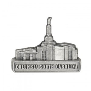 Columbia South Carolina Temple Pin