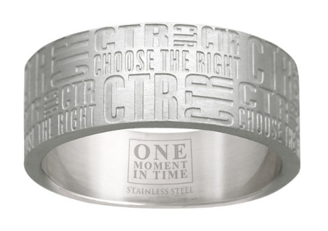 Tabloid CTR Ring (Size 9)