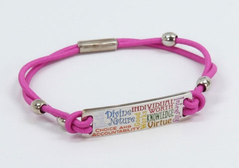 Young Women Values Bungee Bracelet (Bracelet)